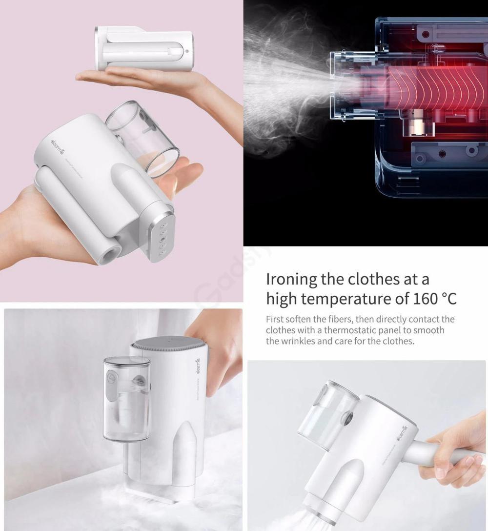 Xiaomi Deerma 220v Handheld Garment Steamer Household Portable Steam Iron (4)