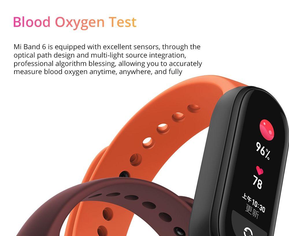Xiaomi Mi Band 6 Amoled Screen Smart Watch (1)