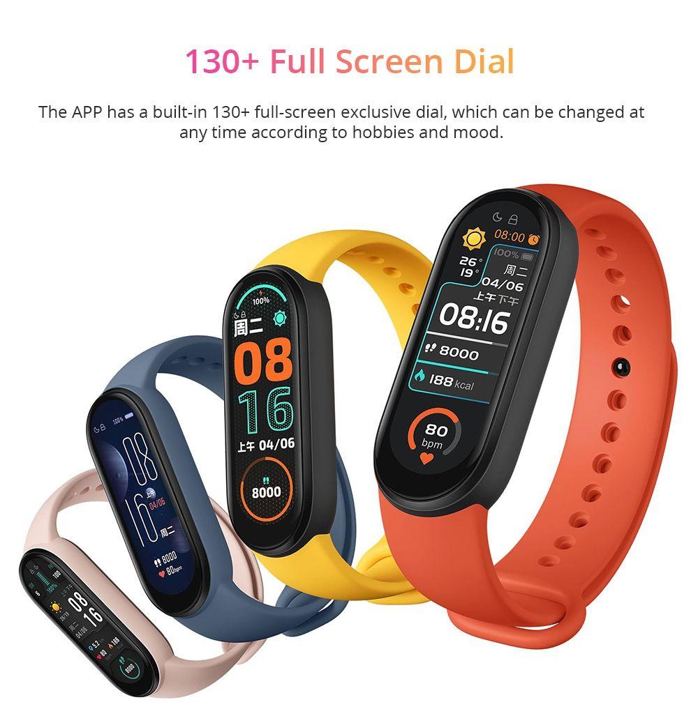 Xiaomi Mi Band 6 Amoled Screen Smart Watch (2)