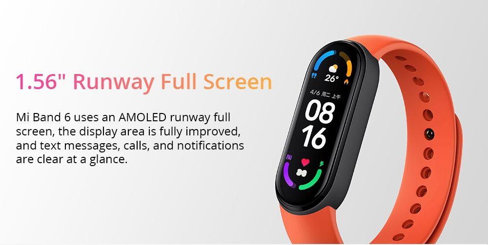 Xiaomi Mi Band 6 Amoled Screen Smart Watch (4)