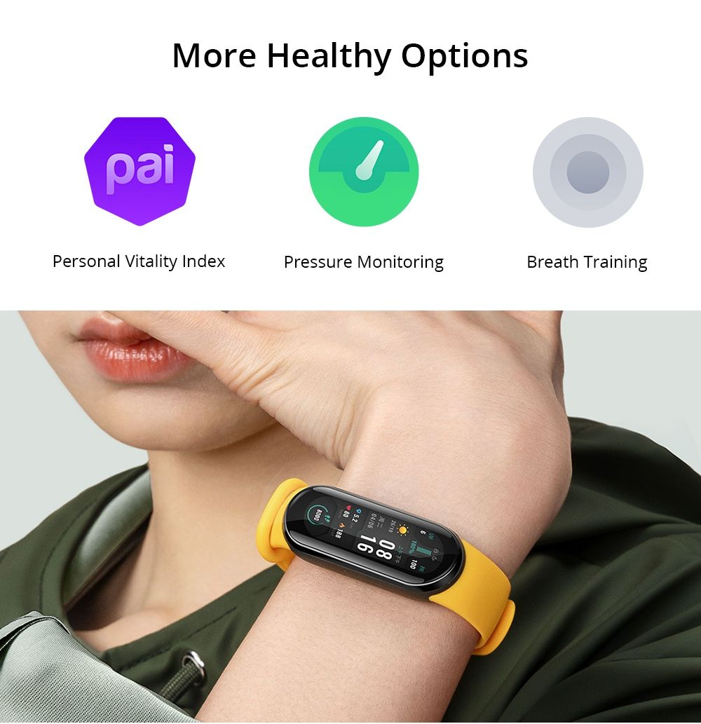 Xiaomi Mi Band 6 Amoled Screen Smart Watch (6)