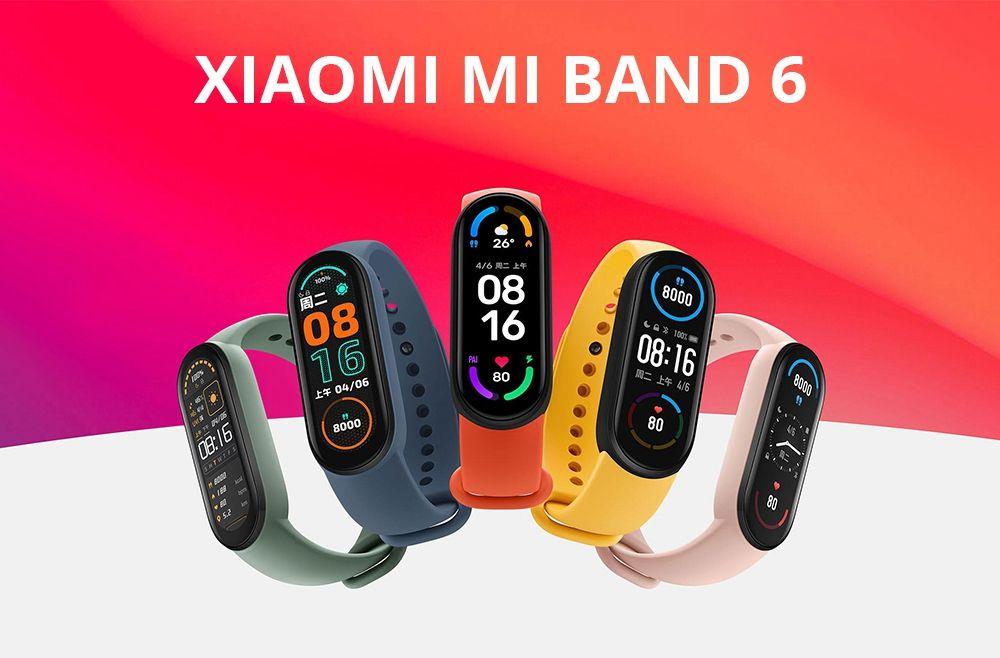 Xiaomi Mi Band 6 Amoled Screen Smart Watch (7)