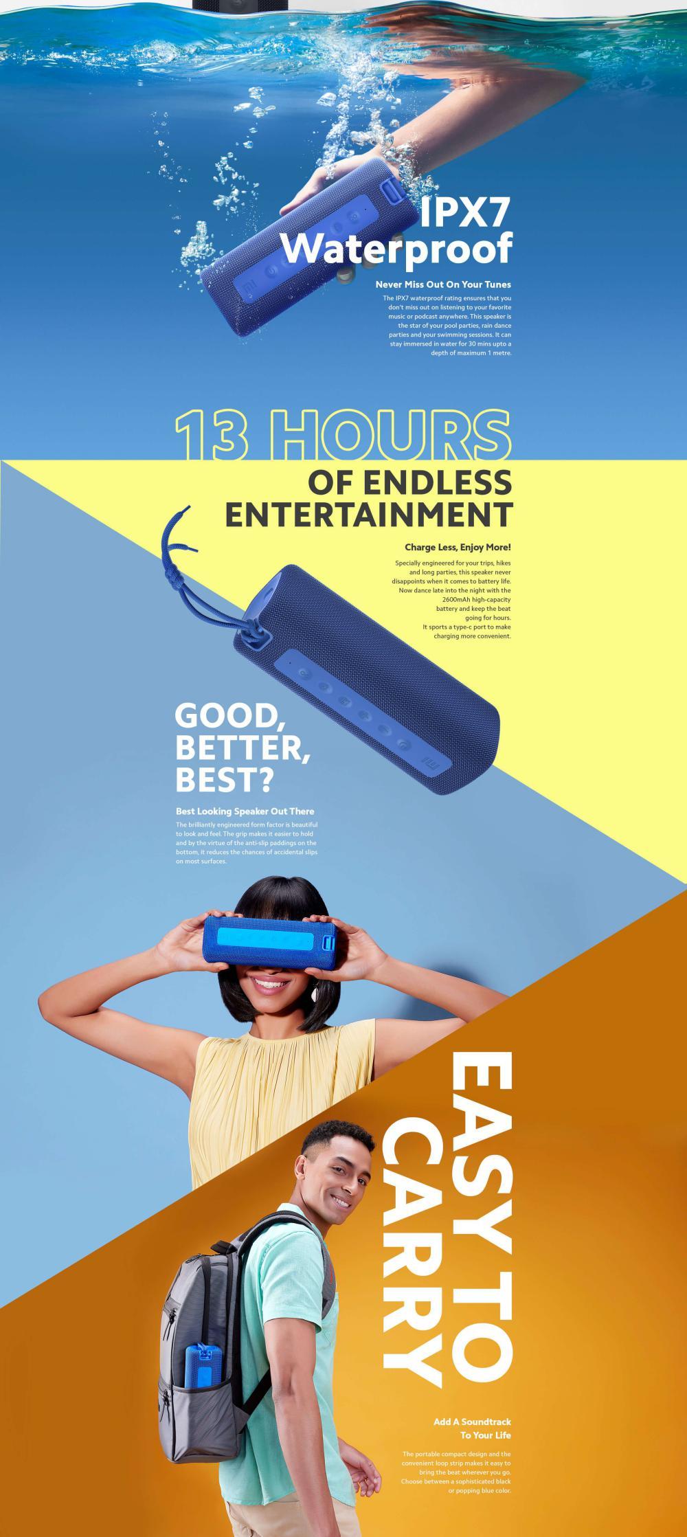 Xiaomi Mi Portable Bluetooth Speaker 16w (3)