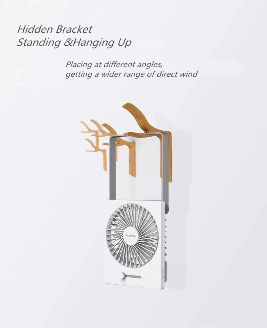 Xiaomi Smart Frog Mini Foldable Usb Fan (4)
