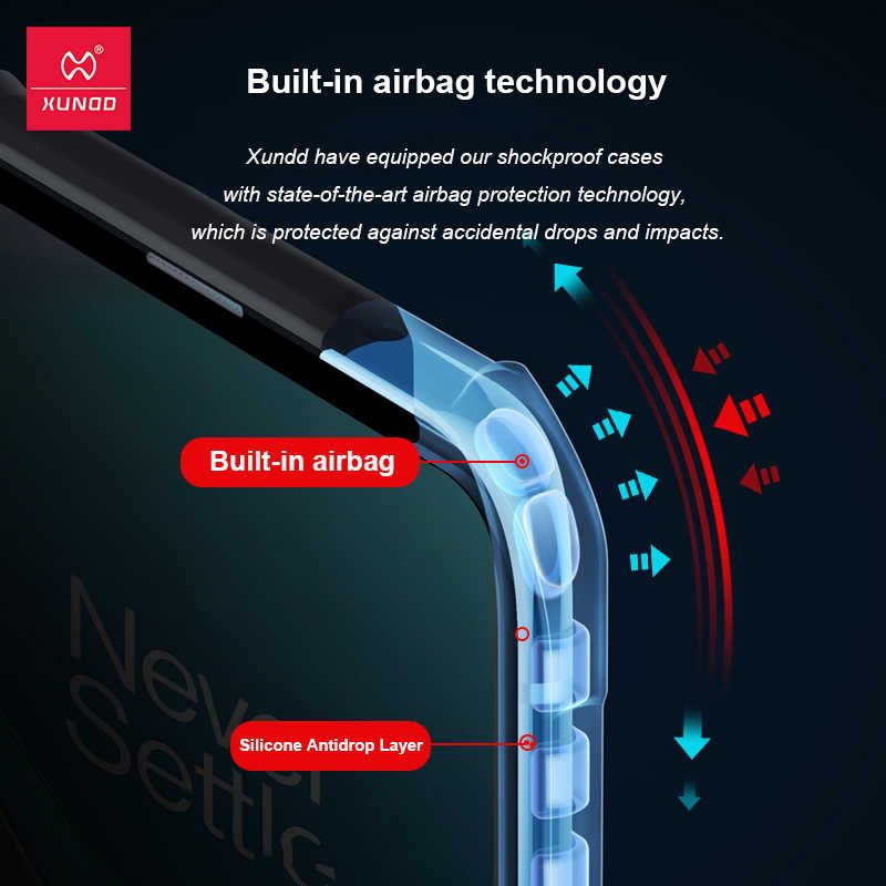Xundd Airbag Bumper Armor Case For Oneplus 9 Pro (1)