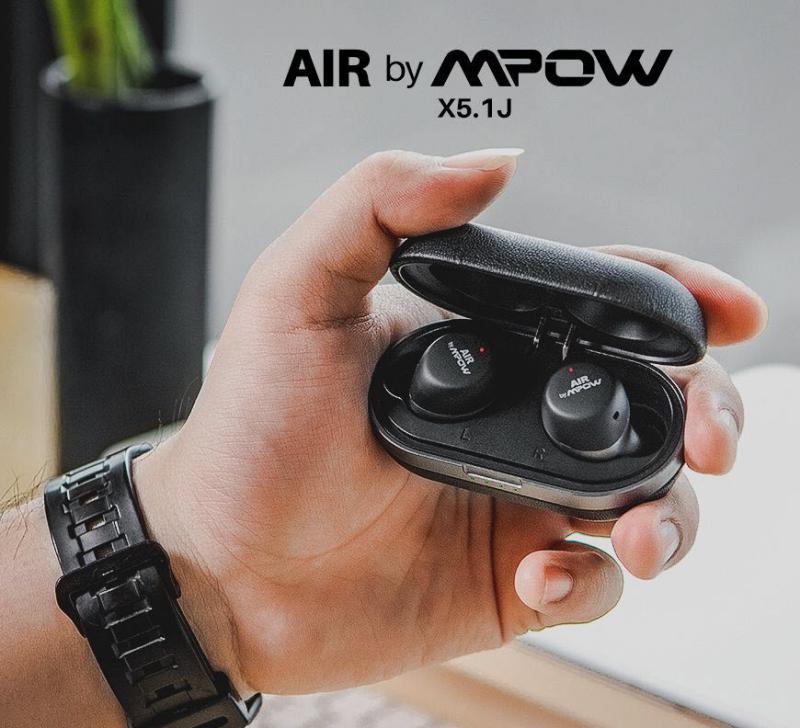 Air By Mpow X5 1j Aptx Touch Sensor Control Waterproof Wireless Earbuds (4)
