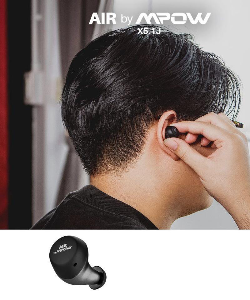 Air By Mpow X5 1j Aptx Touch Sensor Control Waterproof Wireless Earbuds (5)
