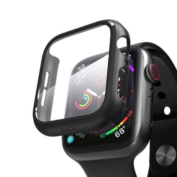 Anank Glass With Case For Apple Watch 44mm (4)
