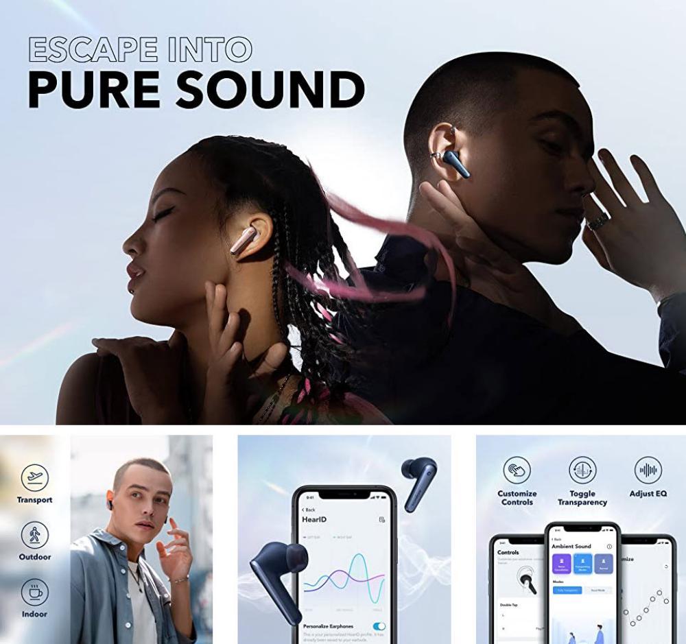 Anker Liberty Air 2 Pro True Wireless Earbuds Blue (2)