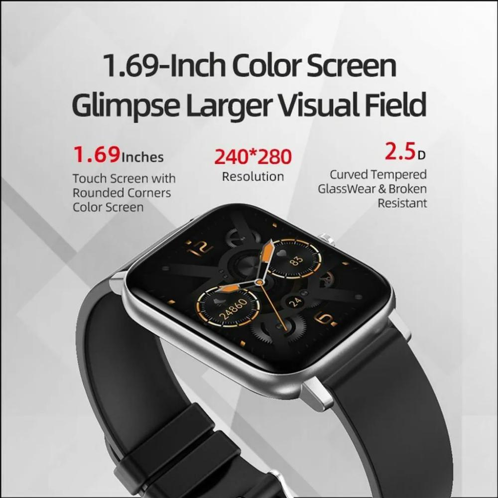 Awei H6 Heart Rate Smart Watch Sport Modes Ipx67 Waterproof (3)