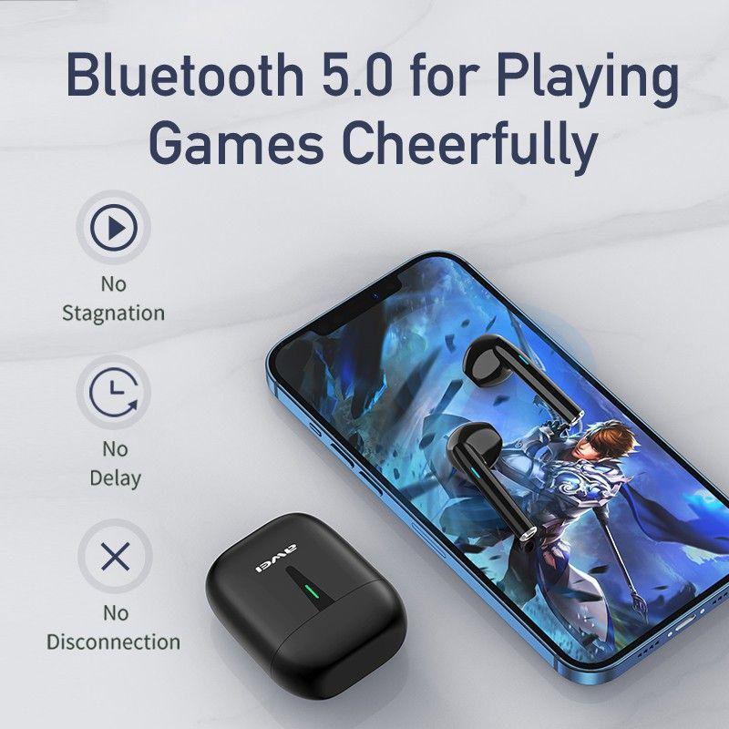 Awei T21 Tws Wireless Bluetooth 5 0 Mini Earbuds (9)