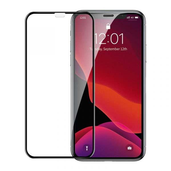 Baseus 0 23mm Curved Screen Tempered Glass Screen Protector For Iphone 11 Pro Iphone Xs