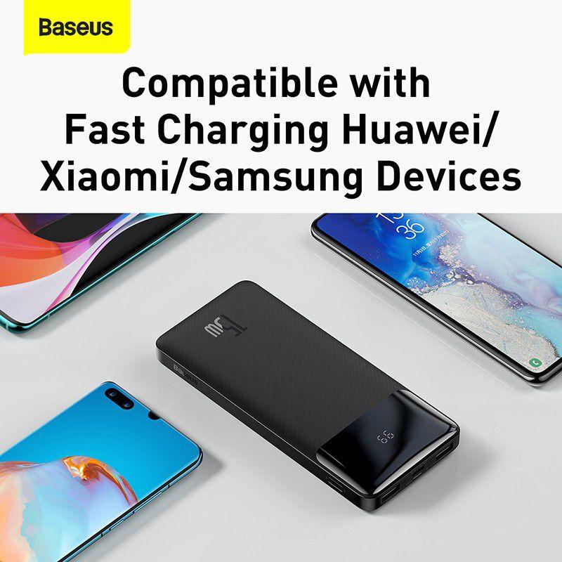 Baseus Bipow Digital Display 15w Power Bank 10000mah (5)