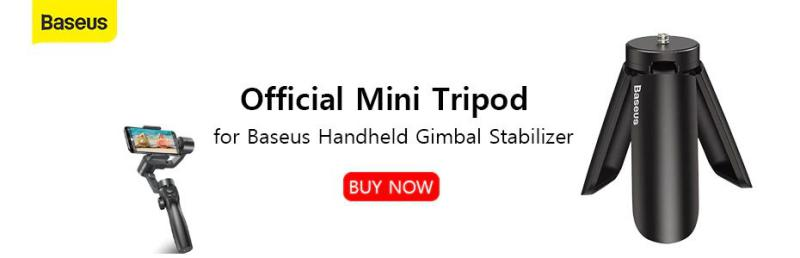 Baseus Control Gimbal Stabilizer Tripod Non Slip Stand (4)