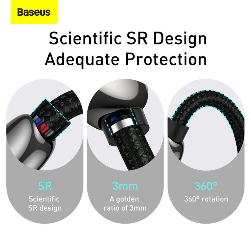 Baseus Display Fast Charging Data Cable Type C To Type C 100w (3)