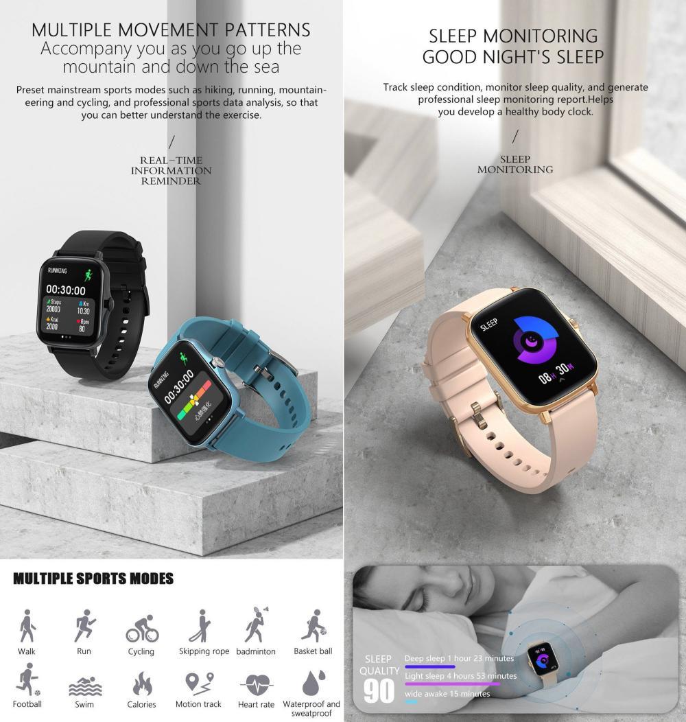 Colmi P8 Plus Ipx7 Waterproof Smartwatch (1)