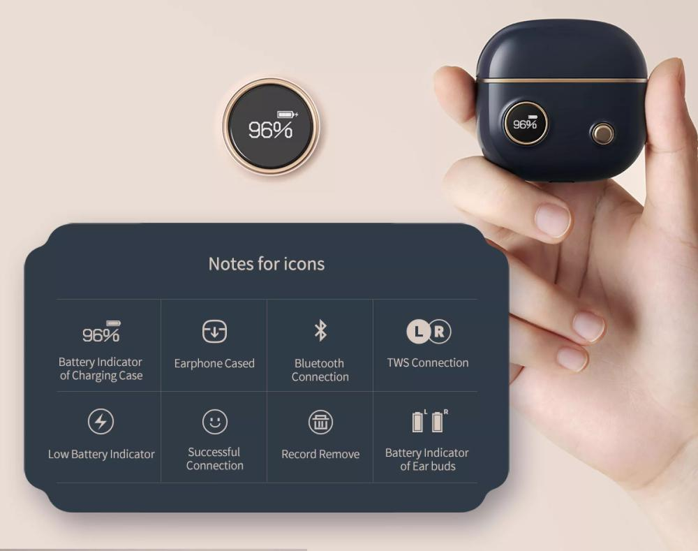 Edifier To U2 Tws Wireless Bluetooth Waterproof Earbuds (4)