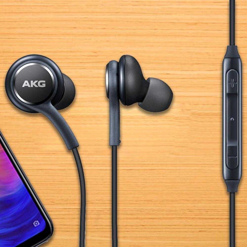 Genuine Samsung Akg Galaxy S9 S9 Handsfree In Ear Earphones (1)