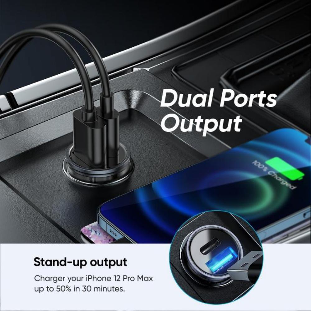 Joyroom C A43 Dual Port Pd 20w Car Charger (3)