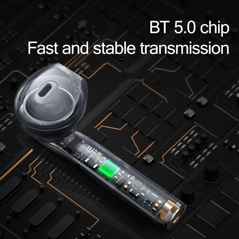 Joyroom Tl9 Tws Wireless Bluetooth Touch Control Wireless Tws Earphones (4)