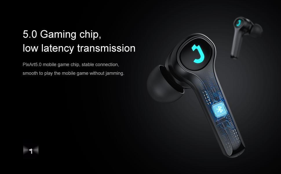 Joyroom Tp1 True Wireless Gaming Earbuds (3)