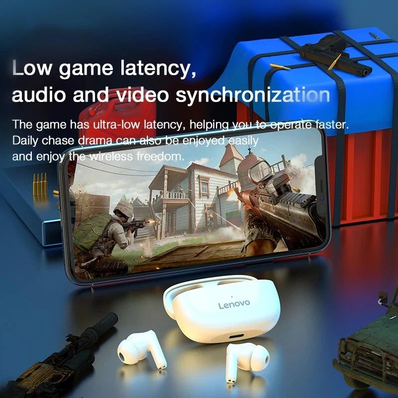 Lenovo Ht05 Tws Bluetooth 5 Earbuds (4)