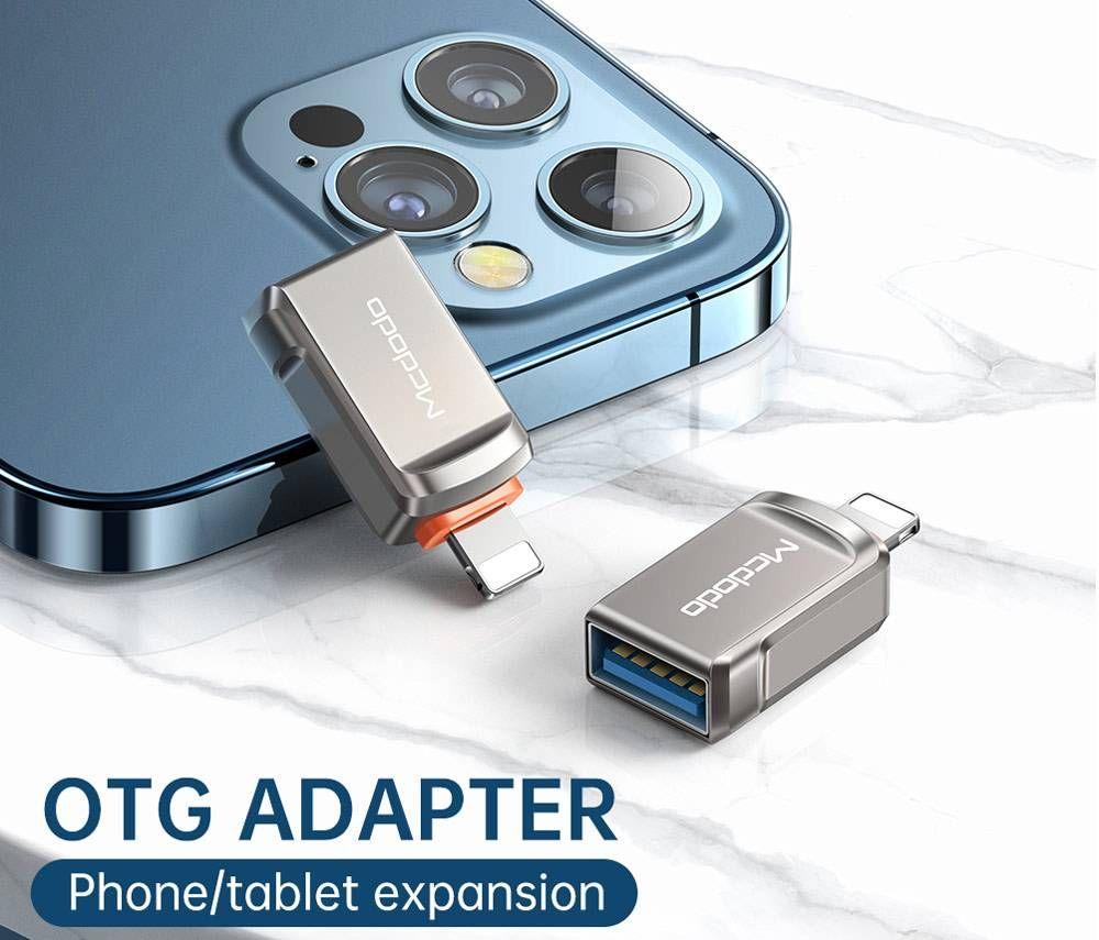 Mcdodo Ot 860 Otg Usb A 3 0 To Lightning Adapter (10)