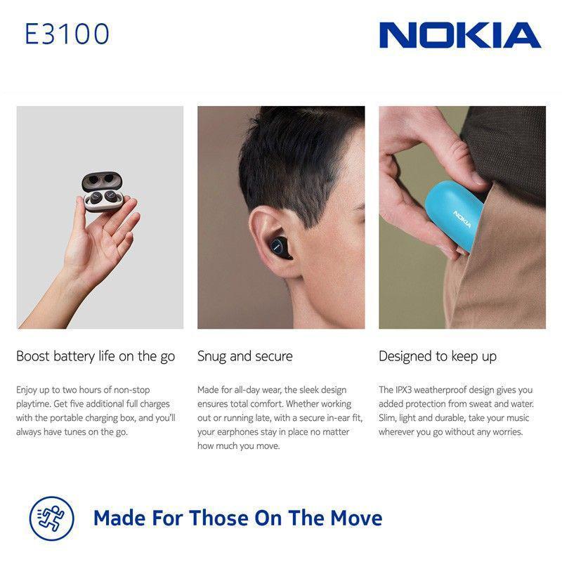 Nokia E3100 Essential True Wireless Earphones (5)