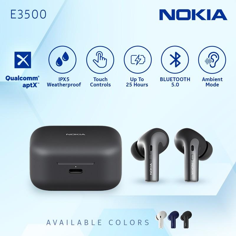 Nokia E3500 Bluetooth 5 0 Headphones Ipx5 Waterproof Earbuds (1)