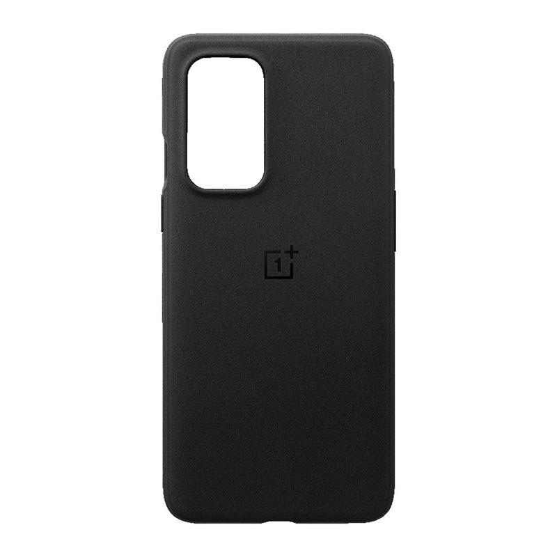Oneplus 9 Sandstone Bumper Case Sandstone Black (1)