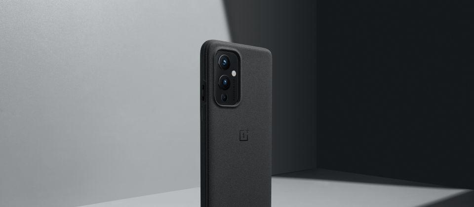 Oneplus 9 Sandstone Bumper Case Sandstone Black (2)