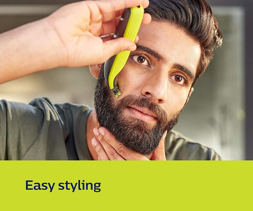 Philips Qp2525 10 Oneblade Hybrid Trimmer And Shaver With 3 Trimming Combs (4)