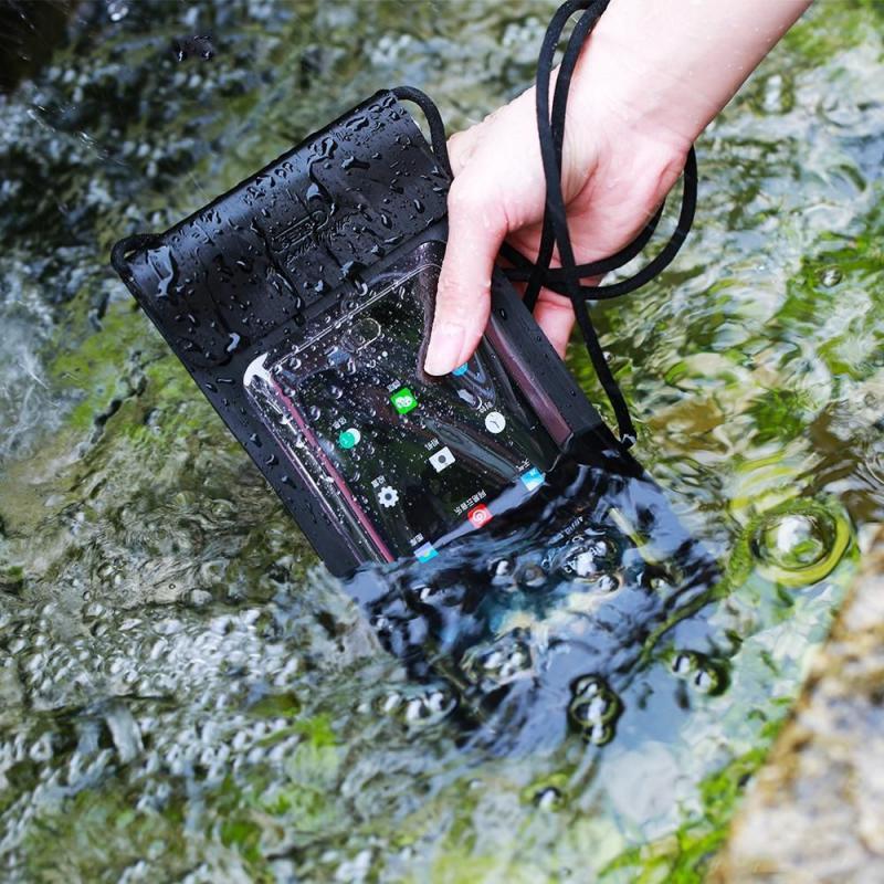 Remax Waterproof Seal Bag Case For Mobile Phones (4)