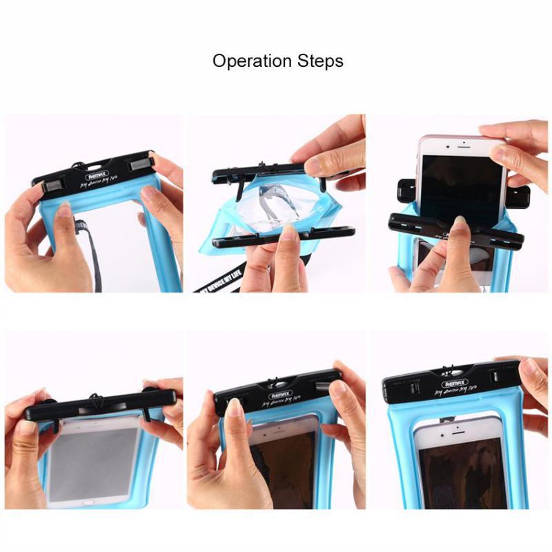 Remax Waterproof Seal Bag Case For Mobile Phones (5)