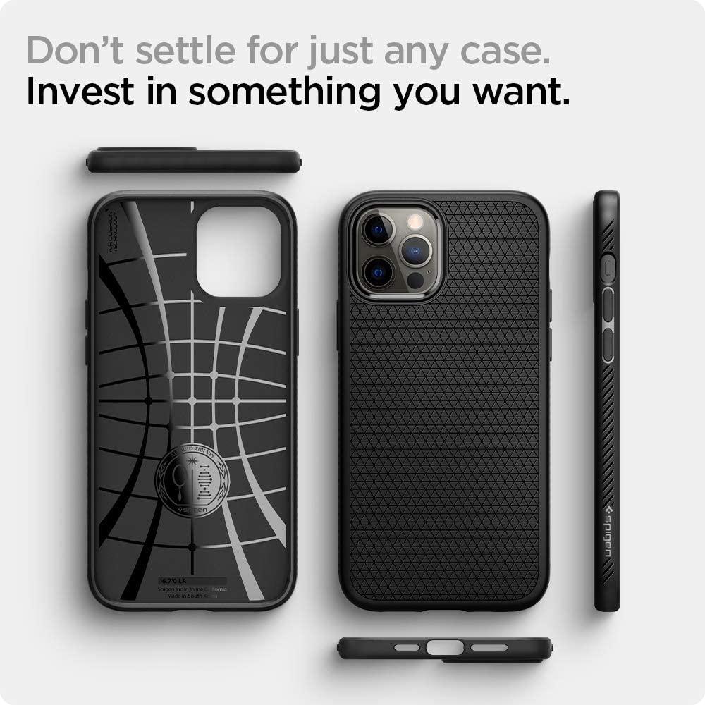 Spigen Liquid Air Case Iphone 12 Pro Max (3)