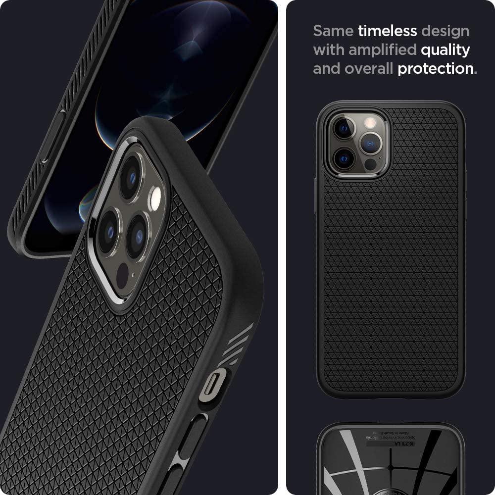 Spigen Liquid Air Case Iphone 12 Pro Max (4)