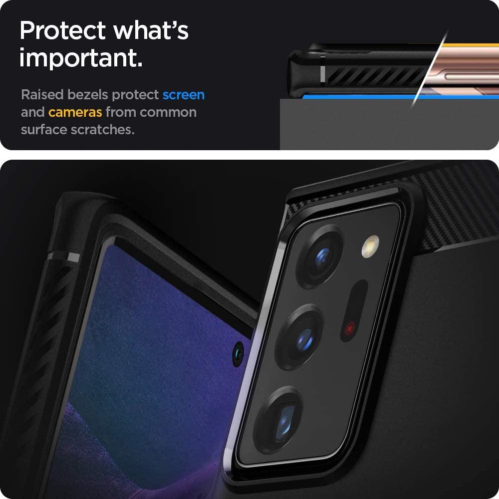 Spigen Rugged Armor Case For Samsung Galaxy Note 20 Ultra 5g (1)
