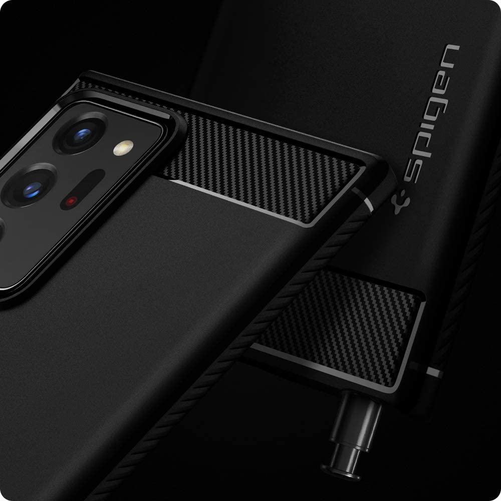 Spigen Rugged Armor Case For Samsung Galaxy Note 20 Ultra 5g (2)