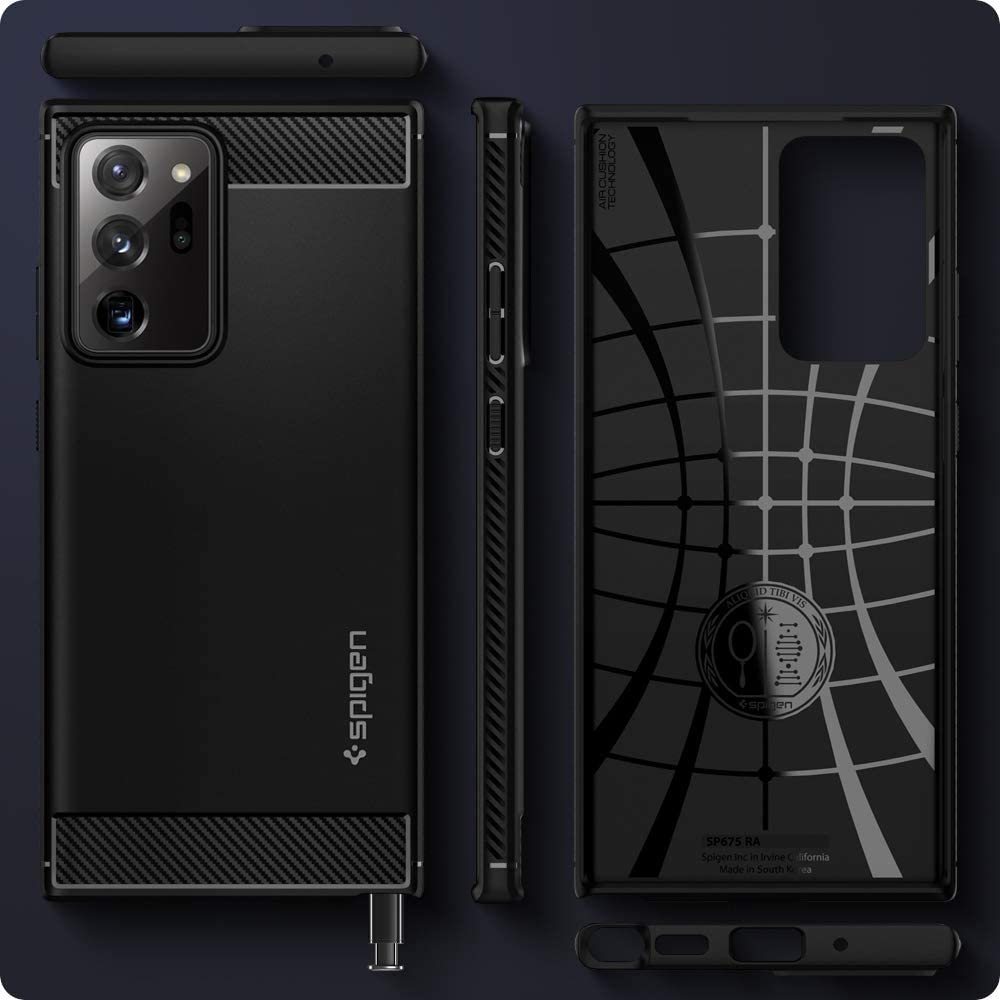Spigen Rugged Armor Case For Samsung Galaxy Note 20 Ultra 5g (3)