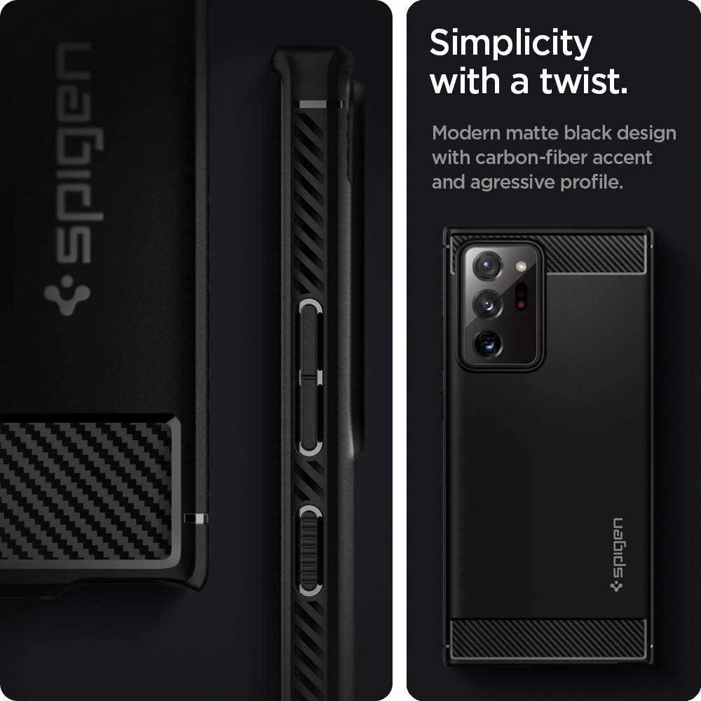 Spigen Rugged Armor Case For Samsung Galaxy Note 20 Ultra 5g (4)