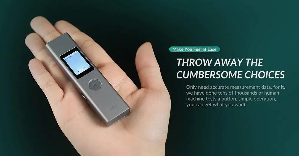 Xiaomi Atuman Duka Ls 1 Intelligent Usb Rechargeable Digital Laser Rangefinder Distance Meter (1)