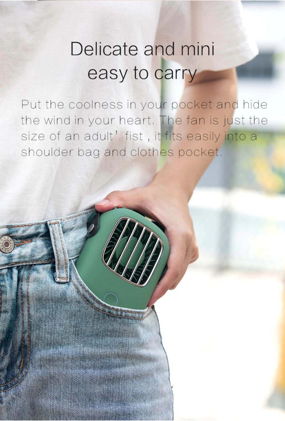 Xiaomi Portable Hanging Neck Fan Mini Pocket Air Cooling Fan (3)