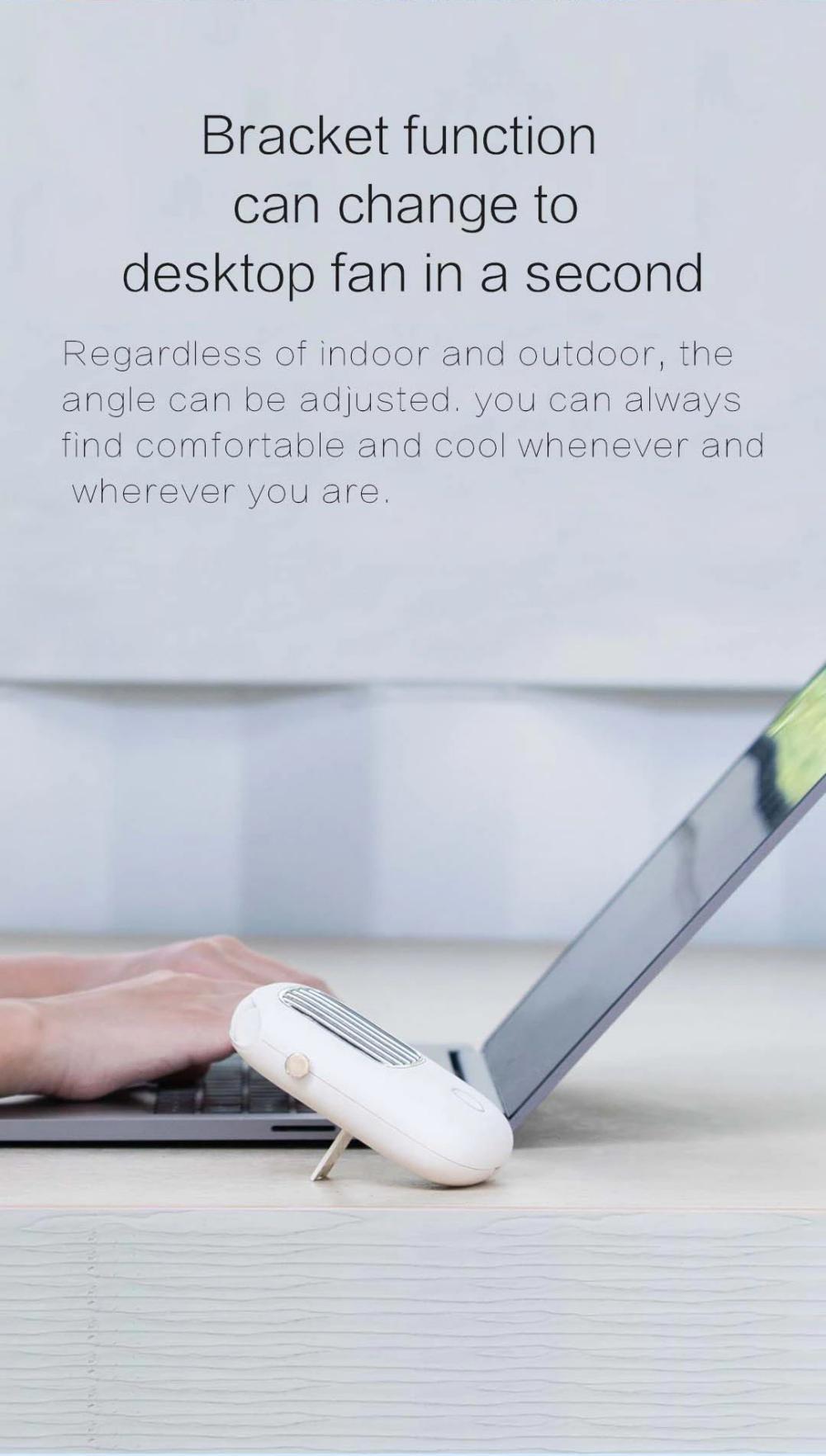 Xiaomi Portable Hanging Neck Fan Mini Pocket Air Cooling Fan (5)