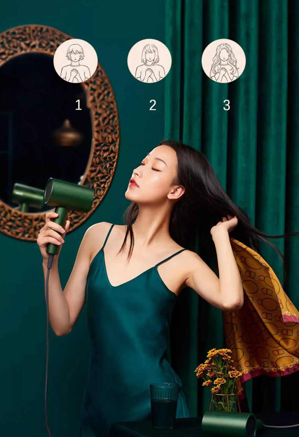 Xiaomi Showsee A5 R G Anion Negative Ion Hair Dryer (3)