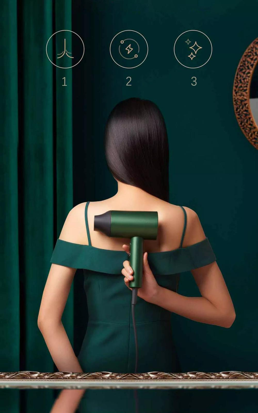 Xiaomi Showsee A5 R G Anion Negative Ion Hair Dryer (7)