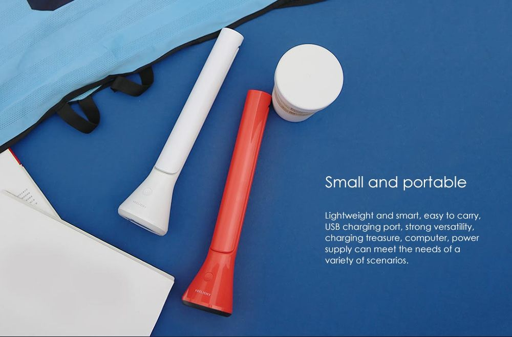 Xiaomi Yeelight Led Table Lamp Foldable Usb Chargeable Dimmable (3)