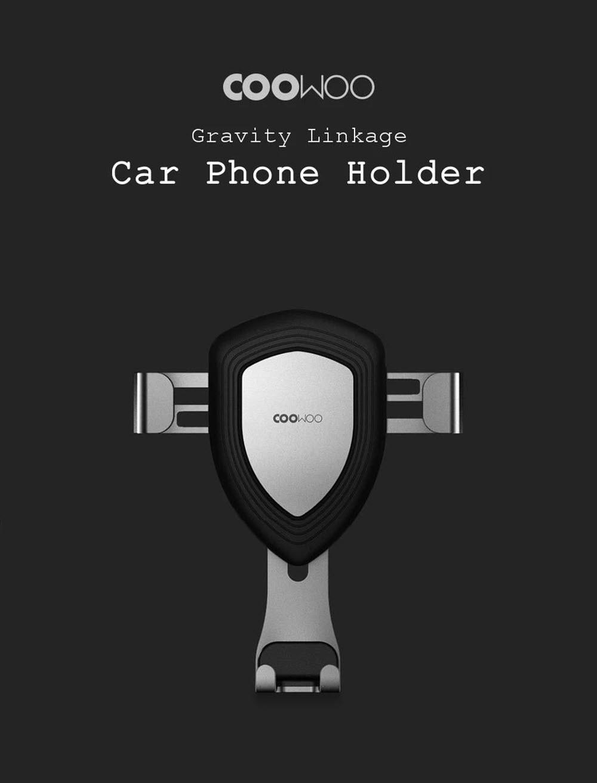 Xiaomi Youpin Coowoo Car Phone Holder With Gravity Sensor (3)