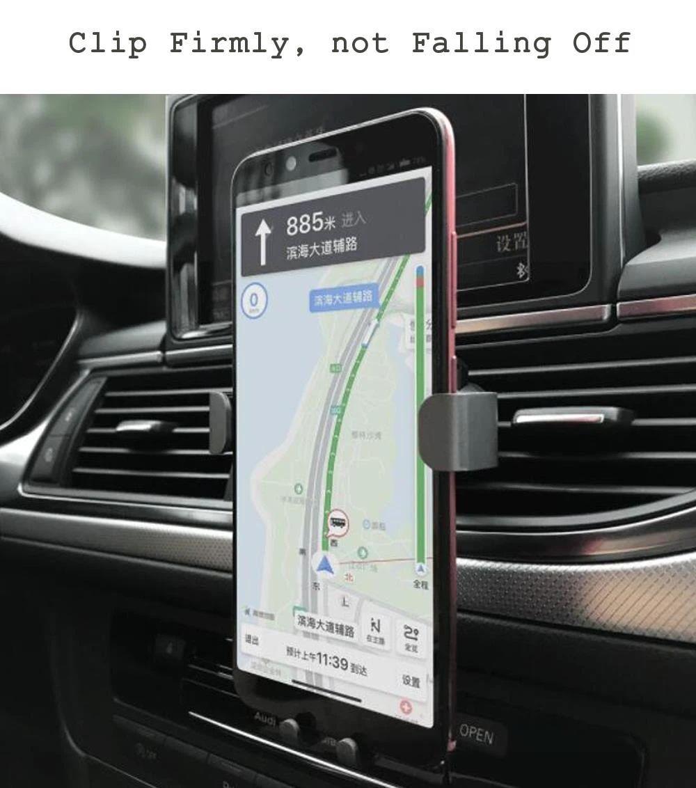 Xiaomi Youpin Coowoo Car Phone Holder With Gravity Sensor (5)