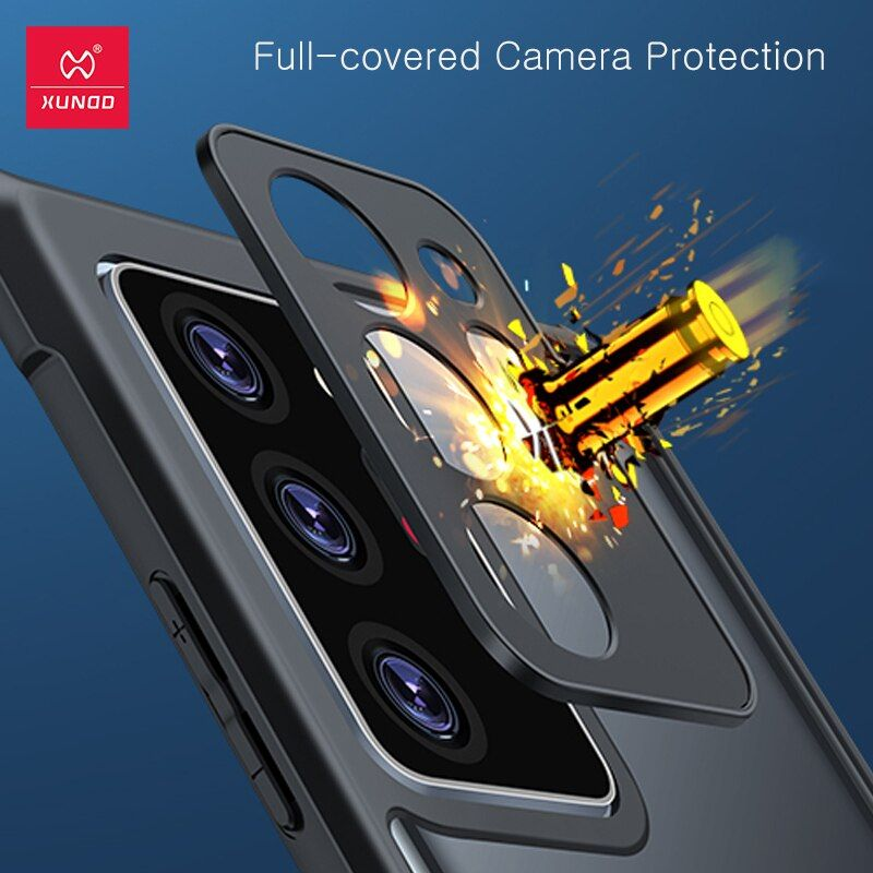 Xundd Case Shockproof Slim Clear Back With Camera Protection For Samsung Galaxy S21 Ultra 5g (3)