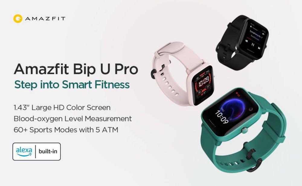 Amazfit Bip U Pro Smart Watch With Built In Gps (6)